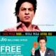 Shahrukh Khan promote Reliance Jio; Laal wala nahi, Neela wala Accha Hai